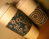 Coffee Sleeve (Blue eye-balls)