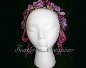 Shades of Purple - Civil War Ball Headdress