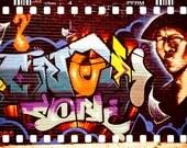 Graffiti - Street Art - Tagging - Hip Hop - 8 x 12 Fine Art Print - Photograph - Wall Decor