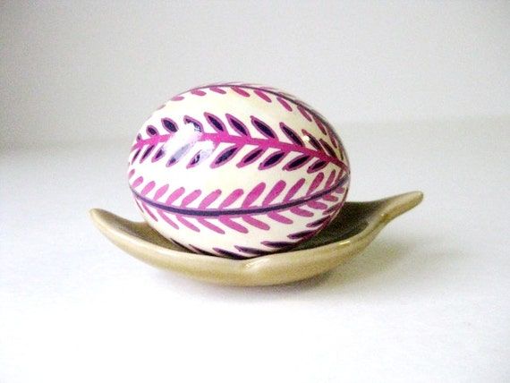 Pysanka makes a great bridesmaids gift token of new life wishing well for the fertile future,egg can be personalized in large quantities