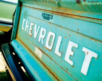 Vintage Chevrolet Tailgate Logo