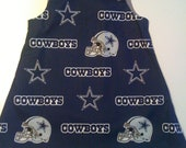 Dallas Cowboys Girls Game Day Jumper Dress Sizes 6/9 months to 4T