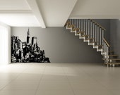 Vinyl Wall Decal Sticker City Building Scape OSMB612s