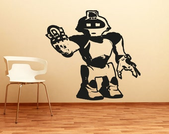 Vinyl Wall Decal Sticker Robot OSAA199s