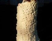 Soft Chunky Big Knit Wool Blanket ... Select your pattern & color ... Custom, made to order