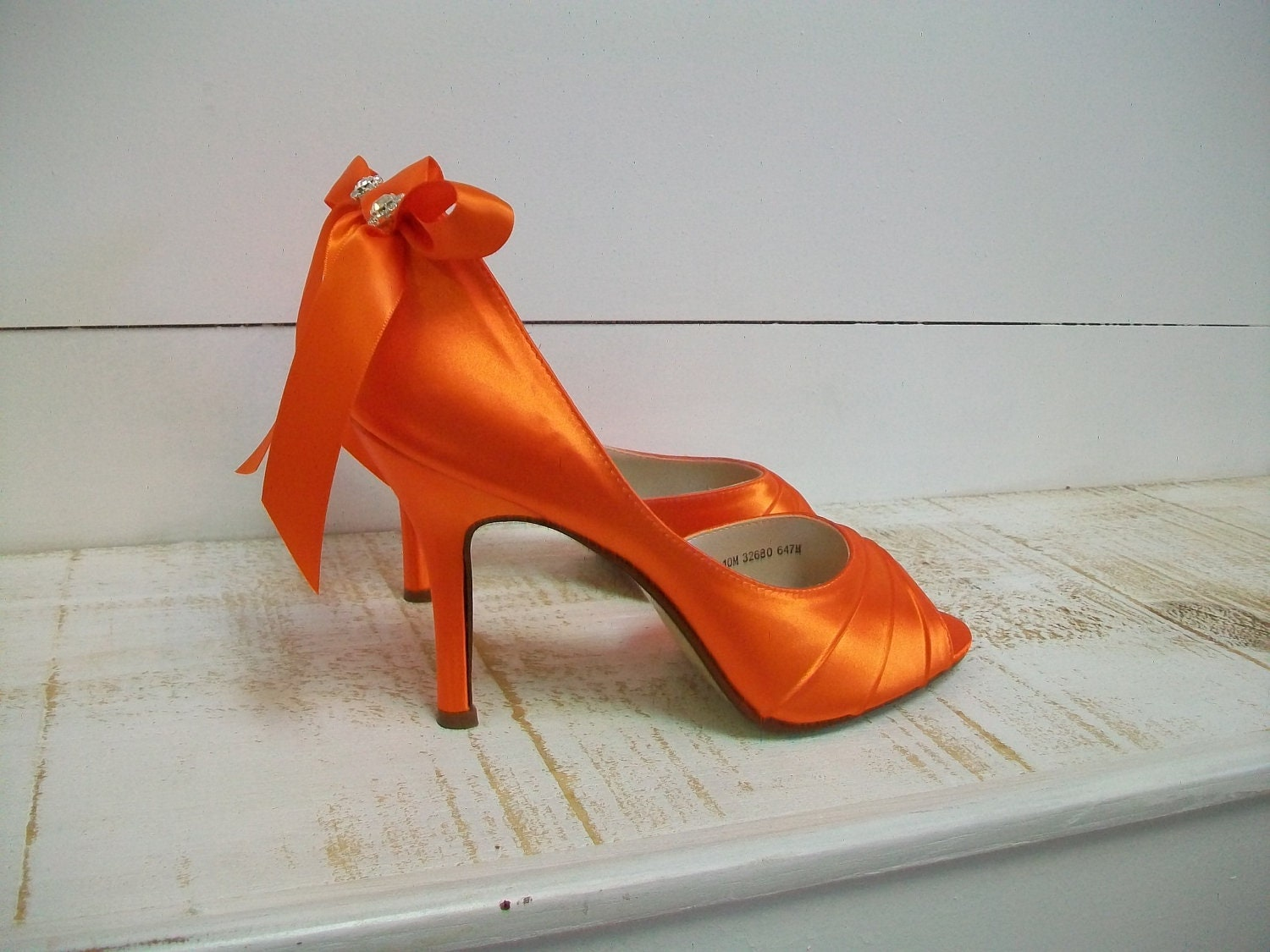 Pink And Orange High Heels