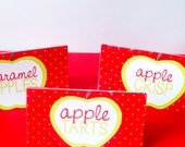 Apple Party PRINTABLE Party Food Labels by Love The Day