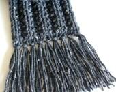 custom fringed scarf - 1206035