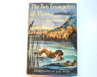 The Two Trumpeters of Vienna, a Vintage Children's Book