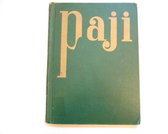 Paji, a Vintage Children's Book, Ceylon, 1940s