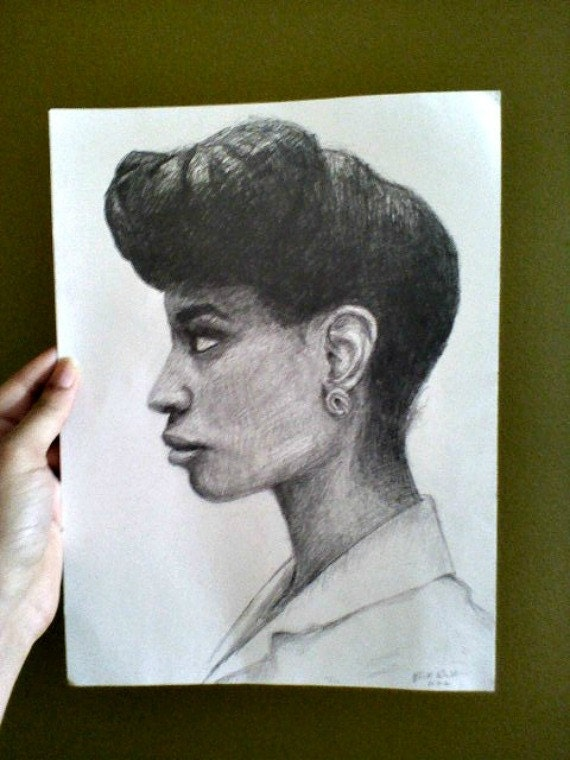 Natural Hair Portrait ...