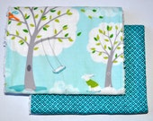 Baby Burp Cloth set, Babymonkeys