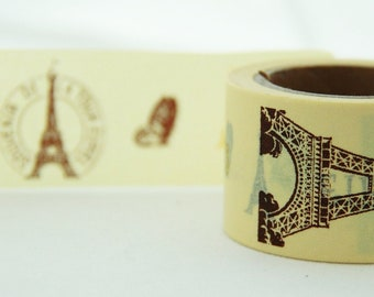 BIG SALE In Love with Paris Washi Masking Tape 30mm WT857
