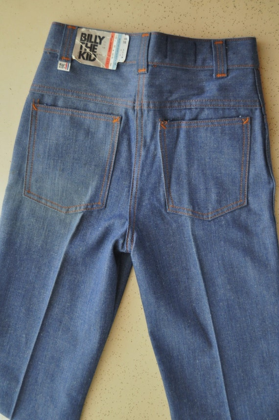Vintage Jeans Billy The Kid Brand New with Tag Youth Size 70s