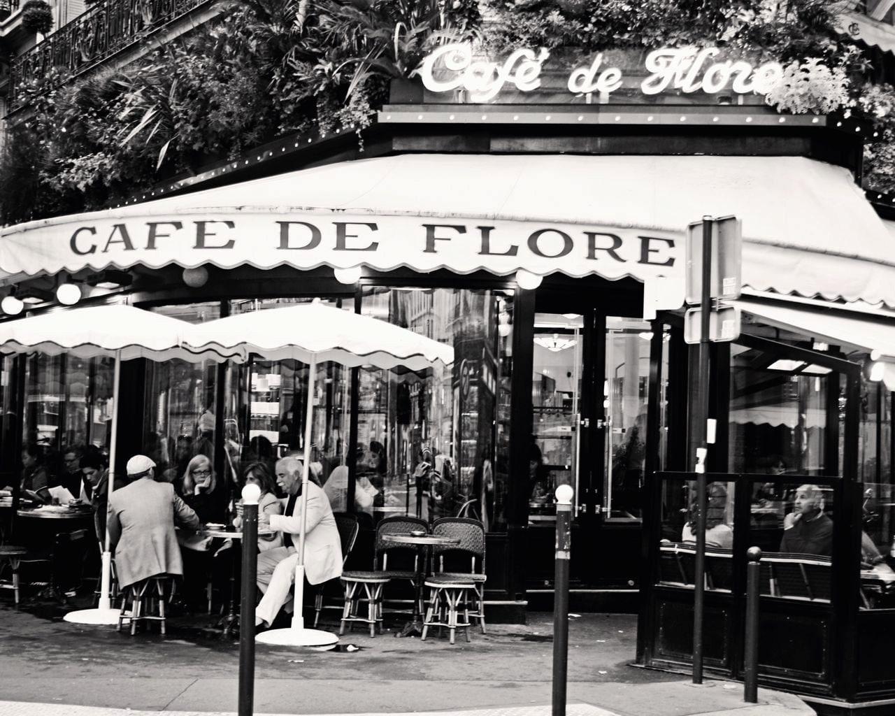black cafe decor brilliant paris photography paris cafe and