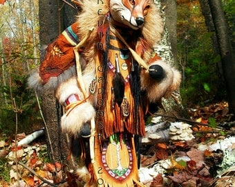 Lame Fox Manitou (Spirit or Totem)