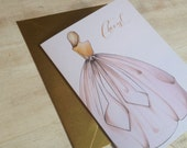 Cheers Wedding Card
