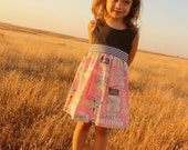 """The """"Audrey"""" Toddler Dress - Hollywood"""