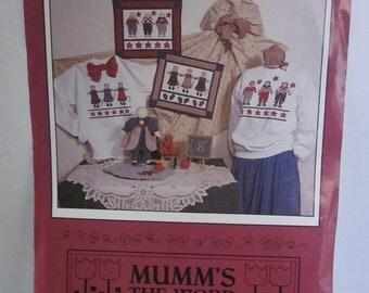 Debbie Mumms The Word Best Friends Applique Mice Sewing Pattern