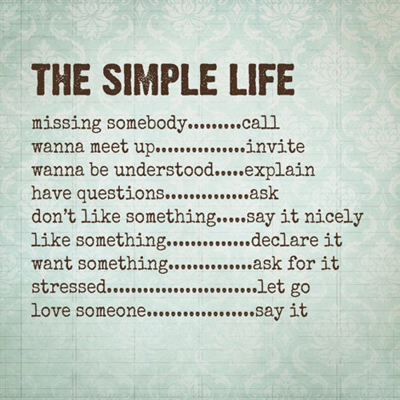 Cute Simple Quotes About Life: Inspirational Quotes About Simple Life. QuotesGram