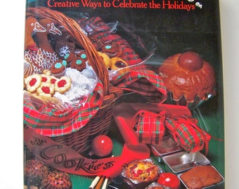Vintage Christmas Entertaining Holiday Craft Book Los Angeles Times Sociable Fun Heavenly Holiday Feasting Spirit of Christmas Crafts 1985