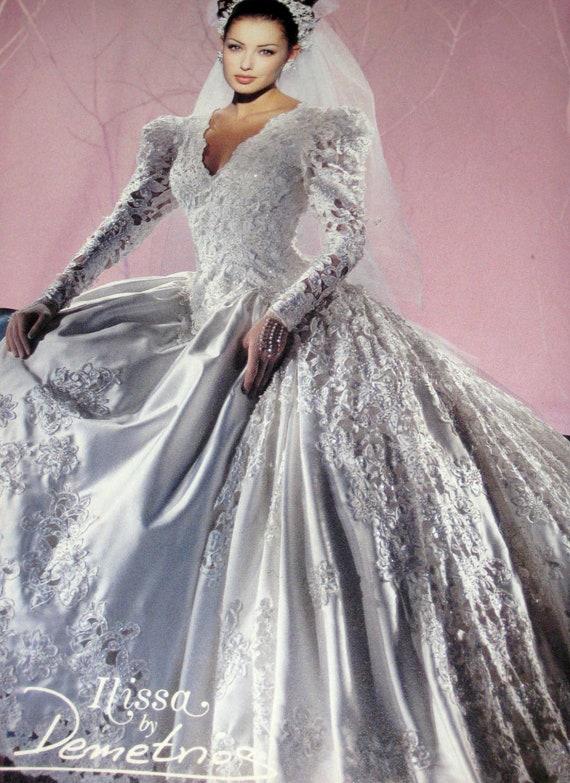 Demetrios Wedding Dresses Suggestions : Items similar to early s magazine ads for demetrios