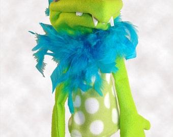Garf Monster Hand Puppet or Ventriloquist Figure
