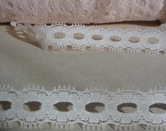 SALE Lace for Dolls clothing's, Costume Design, Scrapbooking, Sewing, Embellishing, Floral Supply, Lace Ribbon
