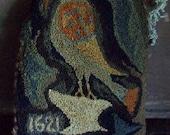 1621 Bird Pillow  The Red Cupboard