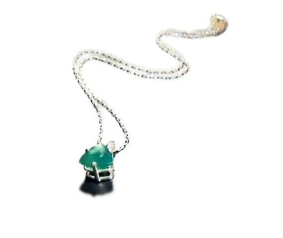 Emerald City - Genuine Agate - OOAK Necklace