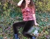 Ladies Velvet Leggings - pick your color/ pick your size
