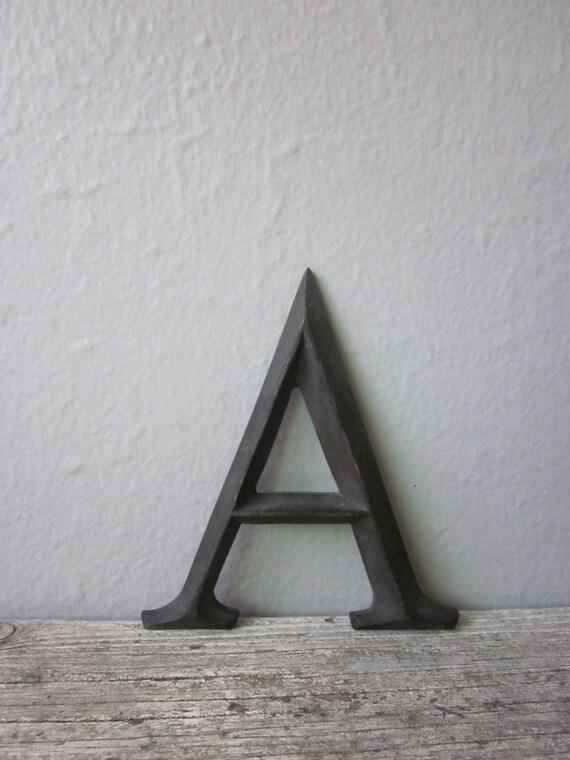 Antique Letter A