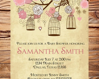 vintage baby shower invitation vintage mason jars baby shower, Baby shower invitations