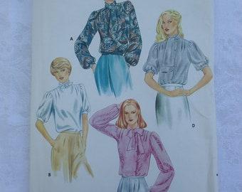 Vintage Tie Blouse Pattern