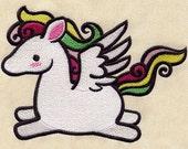 Baby Pegasus embroidered feeding bib