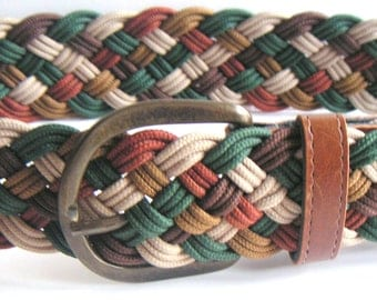 Vintage Knotted Belt. Marcrame,Macrame Knots