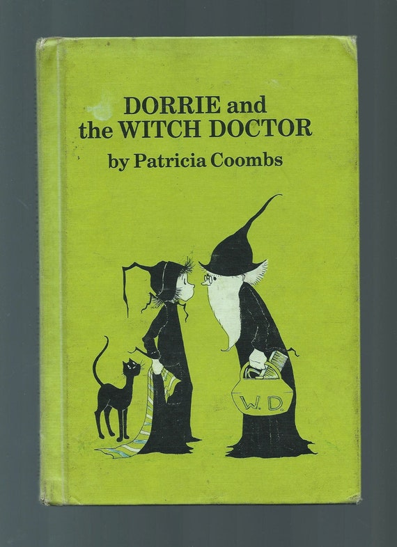 Vintage Dorrie The Witch Book, Dorrie And The Witch Doctor, 1967 Hardcover, Written And Illustrated By Patricia Coombs