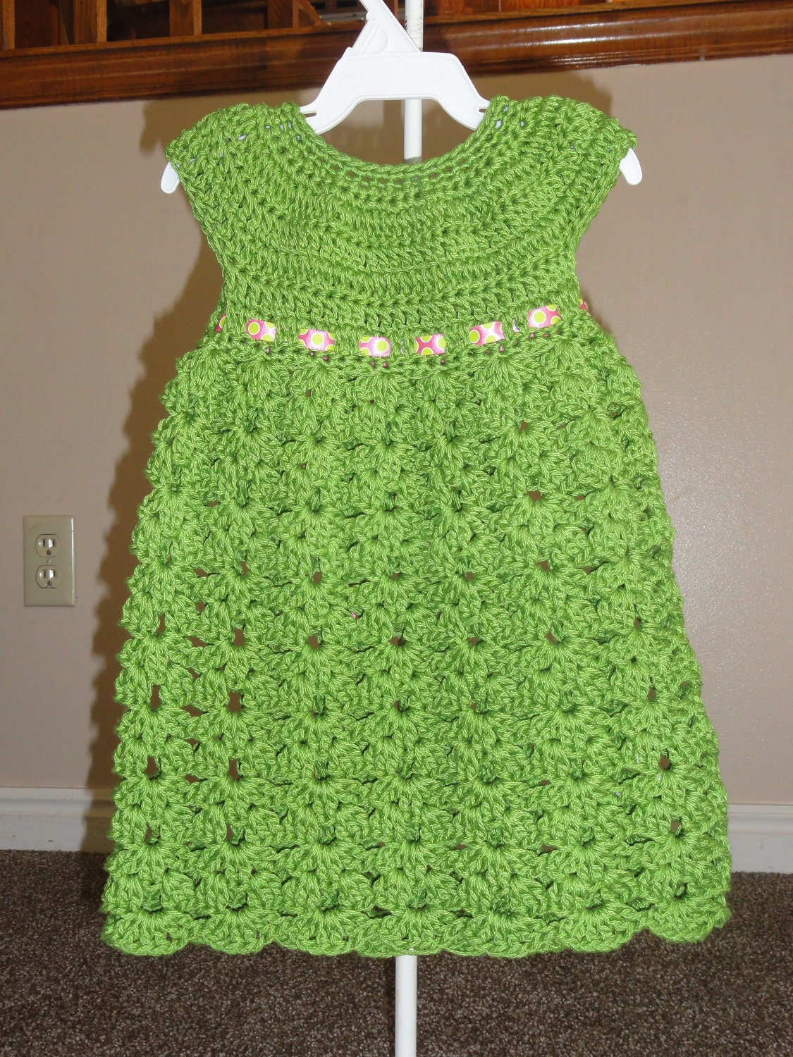 Baby Dress Crochet Pattern Victorian : Fun and Easy Kaylen Dress Crochet Pattern Sizes 12 Months 2T