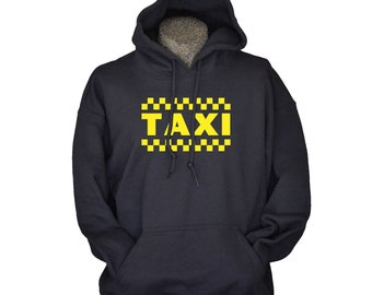 Funny Gift for Mom or Dad from Kids Daughter or Son Taxi Hoodie for Parents Who Drive Kids Everywhere Funny Mothers Day or Fathers Day Gift