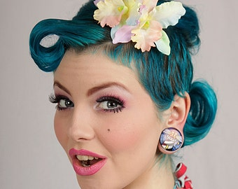 Now, Voyager Cattleya Duo Hair Clip-Tonal Pastels
