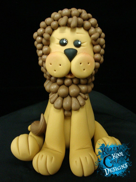 Baby Lion Cake Topper
