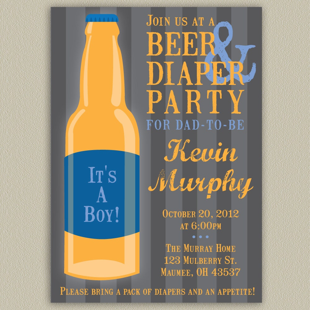 Diaper Party Invites absolutely amazing ideas for your invitation example