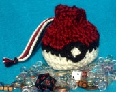 Pokeball Crochet Pouch