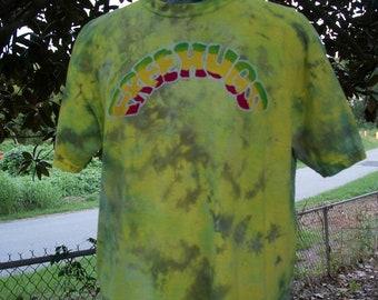 Rasta Free Hugs Batik Dye Medium Shirt #084