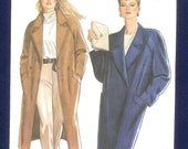 New Look 6021  Coat, With Raglan Sleeves, and Notched Collar, Misses' Sizes 8 to 18 UNCUT