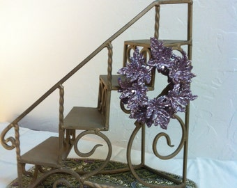 Barbie Doll House MOONSTONE PURPLE VIGNETTE Room Furniture & Accessories Staircase Ken Christmas Dress Romance