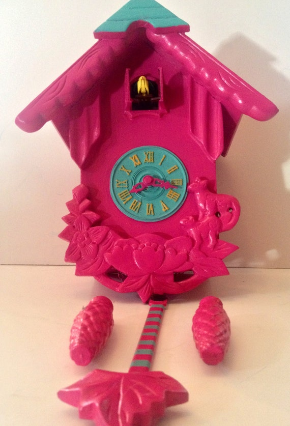 "The ""Pink Pink Pink"" CUCKOO CLOCK"
