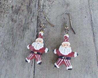 Santa Claus Christmas Holiday Earrings