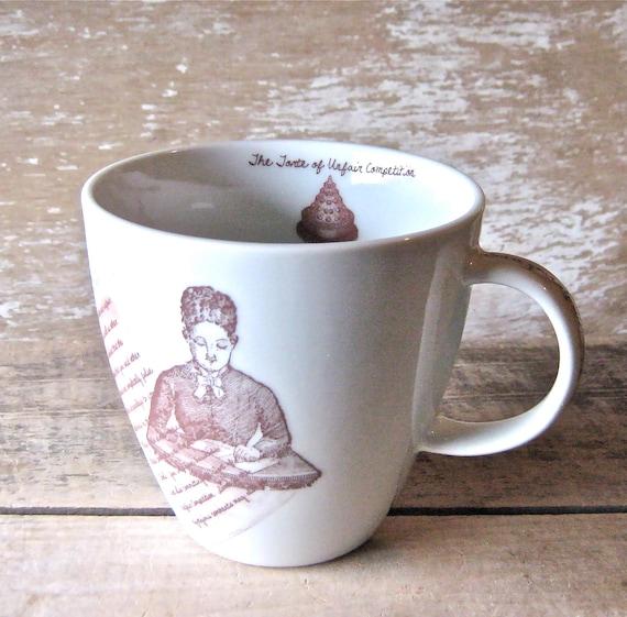 Govern Yourself Accordingly Mug, Snarky Etsy Humor, 16 oz Porcelain Mug, Legalese, Regretsy, Baligate, Etsy Culture, Ready To Ship