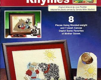 Nursery Rhymes Plastic Canvas Pattern The Needlecraft Shop leaflet 843332